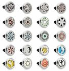 NEW Multi Style Car Air Freshener Essential Oil Diffuser Locket Stainless Steel