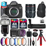 Canon EOS 5DS DSLR Camera + 24-105mm 4L IS II + Pro Flash + Batt Grip - 96GB