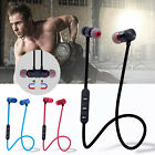 Magnetic Wireless Sport Bluetooth Stereo Headphone Earbuds Headset For Iphone 8