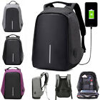 Unisex Anti-theft USB Charging Travel School Bag Laptop Notebook Backpack