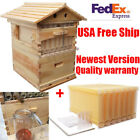 7 pcs Auto Pour Honey Hive Beehive Frames, Beekeeping Super Brood Box House