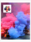 New Colorful Smoke Cake Smoke Effect Show Round Bomb Photography Aid Toy Divine