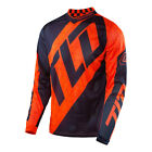 Troy Lee Designs GP Quest Jersey Orange/Navy Youth All Sizes