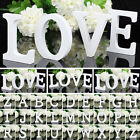 Personalised Wood Wooden Alphabet Letters Wedding Birthday Home Decor DIY New