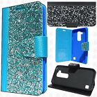 For LG Stylo 2 LS775 Premium Bling Diamond Wallet Case Flip Pouch Phone Cover