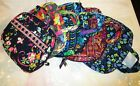 VERA BRADLEY Good Book Cover Bible TAGS Zip Around Case FREE SHIPPING