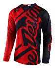 Troy Lee Designs 2018 SE Air Jersey Shadow Red/Navy All Sizes
