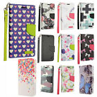 For ZTE Majesty Pro Premium Leather Wallet Case Pouch Flip Cover + Screen Guard