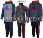 NEW ADIDAS BOYS 2 PIECE ACTIVE WEAR SETS NEW STYLES AND COLORS VARIETY