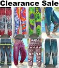Harem Pants Trousers Festival Hippy Yoga Casual Alibaba Baggy Men Women Gypsy