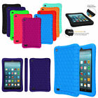 Silicone Shock Proof Case Cover For Amazon Fire 7 2019 / HD 8  2018 / HD 10 2017