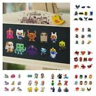 Внешний вид - 4-14pcs/set Fridge Magnets DIY Refrigerator PVC Blackboard Magnets Kid Xmas Gift
