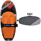 NEW 2018 KIDDER DESIRE ORANGE WATER SKI KNEEBOARD W/ BONUS CARRY BAG + TOW HOOK