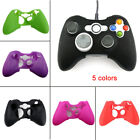Wireless Controller Fr XBOX 360 Silicone Rubber Protective Skin Shell Case Top