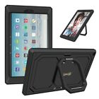 For All-New Amazon Fire HD 10 7th Generation 2017 Rotating Shockproof Case Cover