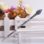 Women Chinese Style Metal Rhinestone Hair Chopsticks Stick Hairpin Chignon Pin
