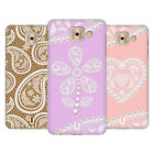 HEAD CASE DESIGNS LACES AND PEARLS 2 HARD BACK CASE FOR SAMSUNG GALAXY J7 MAX