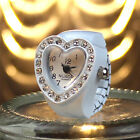 Colourful Gift table Women heart-shaped ring watch Fashion Cute Finger Accessory