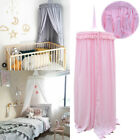 Kids Baby Bed Canopy Bedcover Mosquito Cotton Curtain Bedding Dome Tent Decor