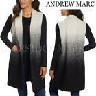 NEW WOMENS ANDREW MARC LONG WOOL BLEND VEST! ANDREW MARC FASHION VEST! VARIETY