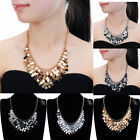 Fashion Jewelry Chain Metal Slice Collar Cluster Charm Pendant Bib Necklace New