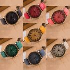 Women Men Stainless Steel Watch Canvas Band Cowboy Analog Quartz Wrist Watches
