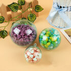 5Pcs Round Clear Bath Bomb Ball Making Mould Plastic DIY Craft Christmas Decor