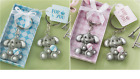 Adorable Baby Elephant Design Key Chain - Blue OR Pink available - NEW