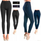 Women Skinny Jegging Blue Stretchy Sexy Pants Pencil Legging