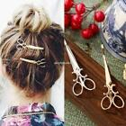 Alloy Scissors Shaped Hairpins Hair Side Clip Hair Accessories For Kids N4U8