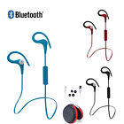 New Wireless Bluetooth 4.1 Earphones Stereo Headphone Headset Ear-Hook Universal