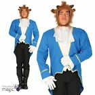 Adults Mens Beauty Beast Fairytale Fancy Dress Costume Outfit Teacher Book Week