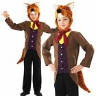 Boys Mr Fantastic Fox Animal Book Day Week Kids Childrens Fancy Dress Costume