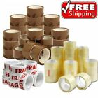 CELLOTAPE CLEAR BROWN OR FRAGILE PACKAGING PARCEL TAPE 48mm x 66m 50mm
