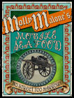 MOLLY MALONE THE PRIDE OF DUBLIN: VICTORIAN METAL SIGN :3 TO CHOOSE FROM