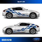 5120 Checkered Flag Vinyl Graphics Decals CAR TRUCK Sticker High Quality EgraF-X