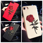 For Iphone 11 Pro Max 7 8 Slim Fit Case Retro Rose Girly Protective Phone Covers