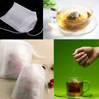100/200 pcs non-woven Empty Teabags String Heat Seal Filter Paper Home Travel
