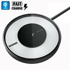 Qi Fast Wireless Charger Charging LED Pad for iPhone X 8 8 Plus Galaxy Note 8 S8
