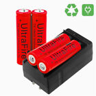 Ultrafire 18650 Battery 3000mAh Li-ion 3.7V Rechargeable Batteries for Torch USA