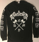 MORTICIAN NYDM Long Sleeve T shirt DEATH METAL Immolation grind S - XL FREE SHIP