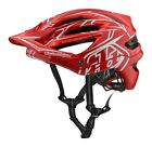 Troy Lee Designs 2018 Bike A2 MIPS Helmet Pinstripe 2 Red Adult All Sizes