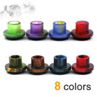Resin Drip Tips  Mouthpieces Caps For Cleito 120 with Rubber Seal Wide Bore Top