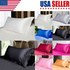 USA Solid Queen/Standard Pillow Case Bedding Pillowcase Smooth Home image