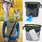 Puppy Pet Dog Obedience Training Treat Bag Feed Bait Food Snack Pouch Belt Bags