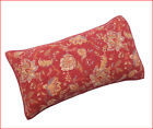 Home Classic SARAH QUILT SHAM - 100% Cotton STANDARD or KING Red Floral 🌟New🌟
