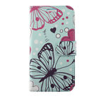 For LG Aristo 2 Premium Leather Wallet Case Pouch Flip Phone Cover Accessory