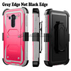 Dual Layer Armor Hybrid Protective Case Cover For LG G Stylo MS631 H631 LS770