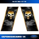 Punisher Skull Truck Bed Camo Graphic Decal Body High Quality Full Color EgraF-X
