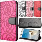 LG Aristo 2 X210 Prime ROSE Leather Wallet Case Pouch Flip Cover +Screen Guard